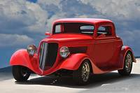 1934 Ford 'Sherry's Cherry' Coupe