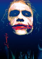 Heath Ledger The Joker #6 Art by Edward Vela