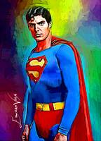 Christopher Reeve Superman #4 Wall Art