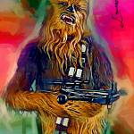 """Chewbacca #4 Art by Edward Vela"" by artofvela"