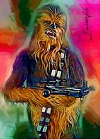 Chewbacca #4 Art by Edward Vela