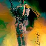 """Boba Fett #4 Art by Edward Vela"" by artofvela"