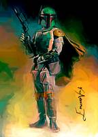 Boba Fett #4 Art by Edward Vela