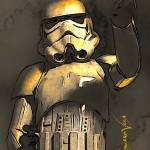 """Stormtrooper #3 Art by Edward Vela"" by artofvela"