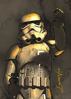 Stormtrooper #3 Art by Edward Vela