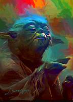 Yoda #5 Art by Edward Vela