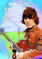 George Harrison Art by Edward Vela