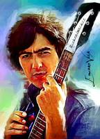 George Harrison #2 Art by Edward Vela
