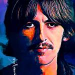 """George Harrison #3 Art by Edward Vela"" by artofvela"
