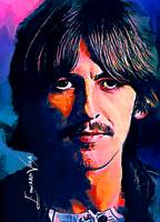 George Harrison #3 Art by Edward Vela