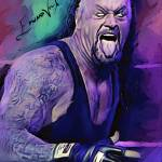 """The Undertaker #2 Art by Edward Vela"" by artofvela"