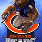 """Chicago WereBear"" by ChucksArtBox"