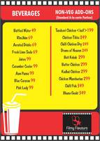 Menu of Filmy Flavours