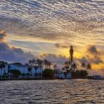 """Hillsboro Inlet Light at Sunrise"" by cdomenig"