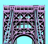 George Washington Bridge Tower New York