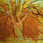 """Burnished silver birch tree"" by valzart"