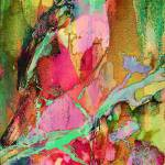 """Abstract Bird Modern Art Watercolor"" by GinetteCallaway"