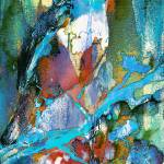 """Abstract Bird in Tree Modern Decor"" by GinetteCallaway"