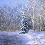 """""""snowy frozen pond"""" by Matthew_Hannum"""