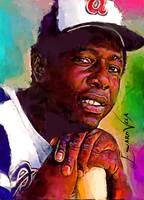 Hank Aaron #12 Wall Art