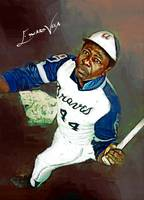 Hank Aaron #14 Wall Art