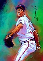 Greg Maddux #6 Art by Edward Vela