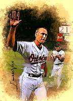 Cal Ripken Jr #9 Wall Art