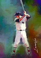 Carl Yastrzemski #4 Art by Edward Vela