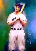 Lou Gehrig #14 Art by Edward Vela