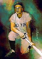 Roger Maris #6 Art by Edward Vela