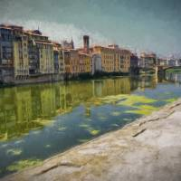 """Along the Arno"" by Paul Coco"