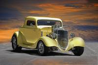 1934 Ford Coupe w Fuel Injection 1