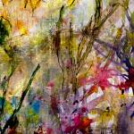 """Abstract Floral Patina Antique Look"" by GinetteCallaway"