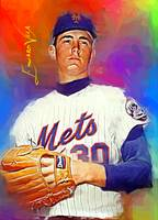 Nolan Ryan #14 Art by Edward Vela