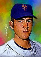 Nolan Ryan #16 Art by Edward Vela