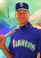Alex Rodriguez #3 Wall Art