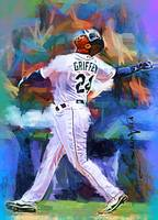 Ken Griffey Jr. #12 Art by Edward Vela