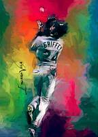 Ken Griffey Jr. #13 Art by Edward Vela