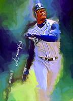 Ken Griffey Jr. #14 Art by Edward Vela