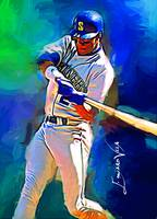 Ken Griffey Jr. #15 Art by Edward Vela