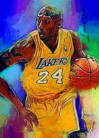 Kobe Bryant #11 Art by Edward Vela