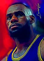 Lebron James #13 Wall Art
