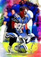 Jason Witten #3 Art by Edward Vela