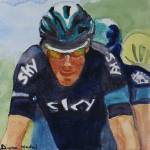 """2015TourdeFrance_Favorites_Nicholas_Roche"" by DianaNadalFineArt"