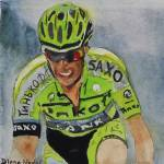 """2015TourdeFrance_Favorites_Alberto_Contador"" by DianaNadalFineArt"