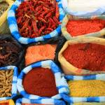 """Colorful Spices at the Market"" by rhamm"