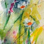 """Abstract Chamomile Flower Fascination"" by GinetteCallaway"