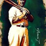 """Ty Cobb  #15 Art by Edward Vela"" by artofvela"