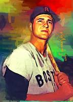 Carl Yastrzemski #3 Art by Edward Vela