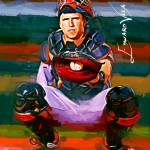 """""""Buster Posey #2 Art by Edward Vela"""" by artofvela"""